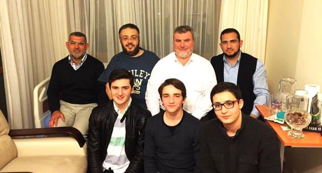 Soldan; Ahmet Arslan, Tahir Ersoy, Faik boyacı