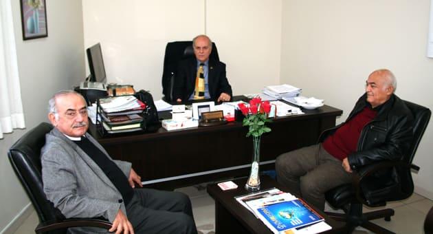 Soldan; Turan Narin, M. Necati Gürsöz, Yaşar Kirtil