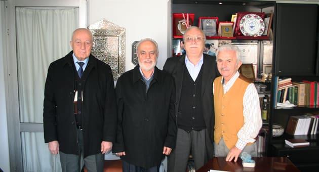 Soldan; Yusuf Çatal, Hasan Şencan, HasanDayhan, Şahin Uğurlu