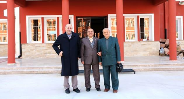 Gaziemir Anadolu İmam Hatip Lisesi Müdürü Ali Dinçer Ziyaret Edildi