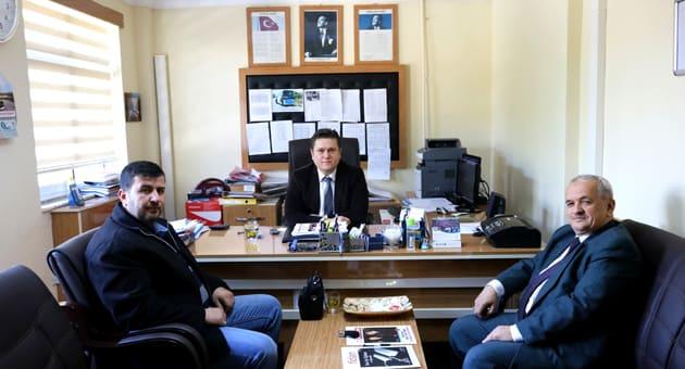 Çakabey İmam Hatip Ortaokulu Müdürü Mazlum Ziyaret edildi