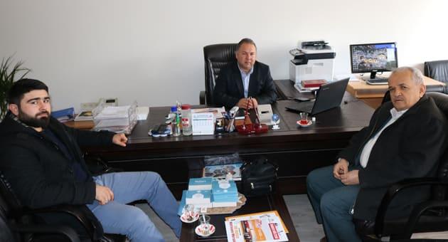 Buca Anadolu İmam Hatip Lisesi Müdürü Ali İnce Ziyaret Edildi