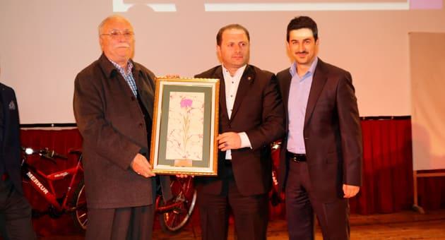 Sağdan; Hasan Dayhan, Ali Musa Bina, Mucip Uludağ