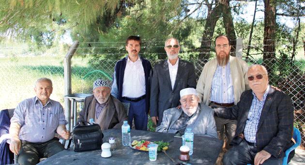 Soldan; Mustafa Yaman, Hasan Öz, Şaban Küçük, Mehmet Bulut, Mehmet Topçu, Ramazan Duran, Hasan Dayhan